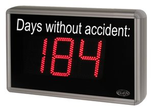 days without accident