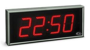 large size digital clock led ndc 160 4 r h20 time low1