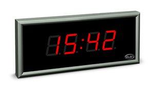 large size digital clock led ndc 57 4 r l20