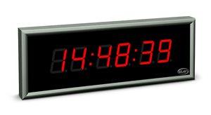 large size digital clock led ndc 57 6 r l20