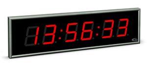 large size digital clock ndc 100 6 r l20