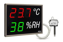 led display temperature humidity monitors sensors nda ths