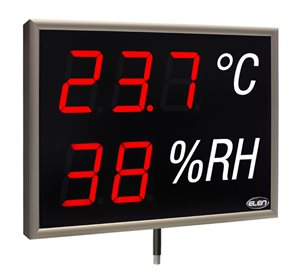 led display monitoring temperature humidity nda 100 3 2 ths r