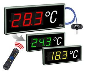 temperature led display cdn 100 3 t rg l20 230ac 1wire color