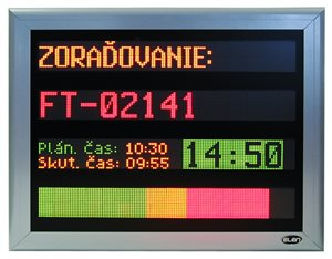 led display cdt production board profibus 1