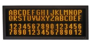 led display tdu 200 20 128x2 800x400c