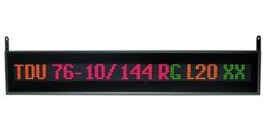 led display tdu 76 10 144x1x1 rg