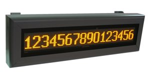 led display textual tdu 99 16 128 800x400