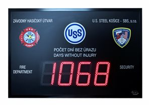 cdn 160 safety board led display