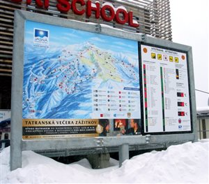 led display ski trails legend2