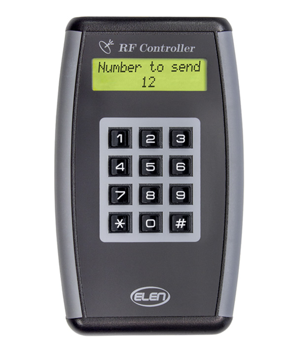 Numerical keypad, with serial line RS485