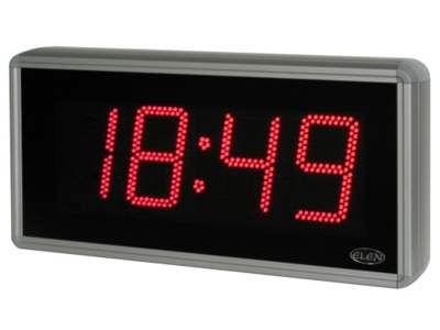 Digital clock for displaying time, date and temperature <br />NDC 160/4 R