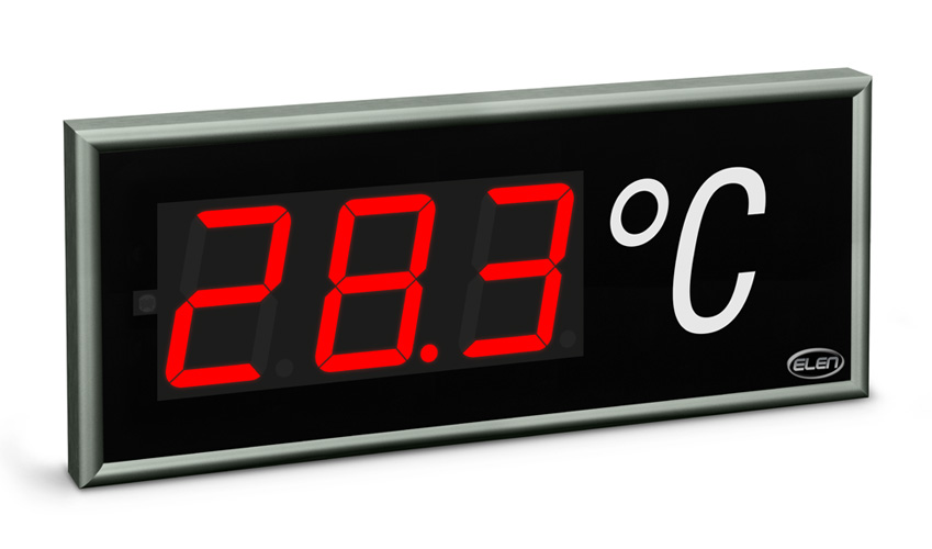 Universal numeric LED display NDE 100/3 R