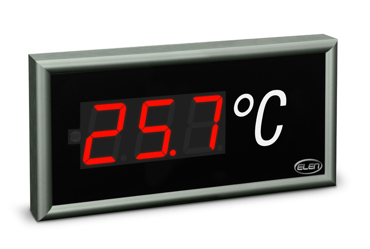 Universal numeric LED display NDE 57/3 R