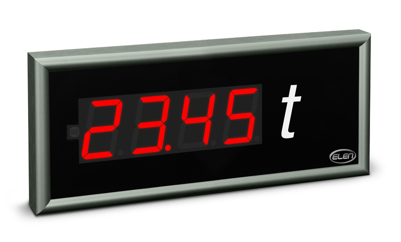 Universal numeric LED display NDE 57/4 R