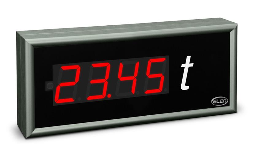 Universal numeric LED display NDU 57/4 R