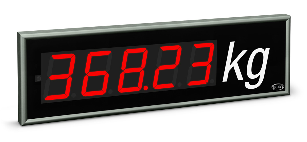 Universal numeric LED display NDE 100/5 R