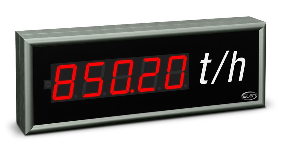 Universal numeric LED display NDU 57/5 R