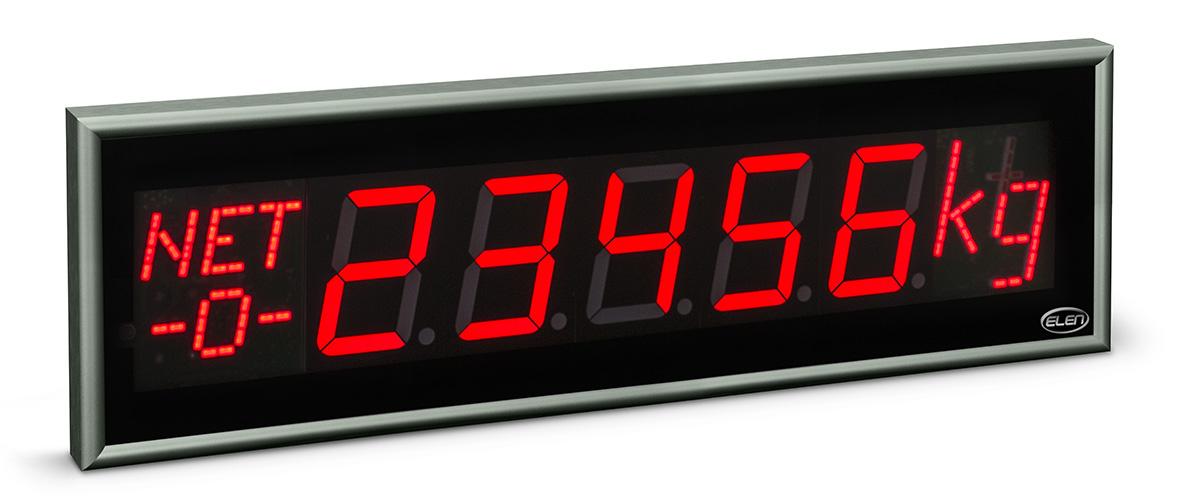 Weighing industrial display NDE 100/5 W R