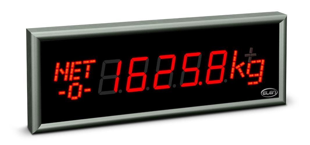 Weighing industrial display NDE 57/5 W R