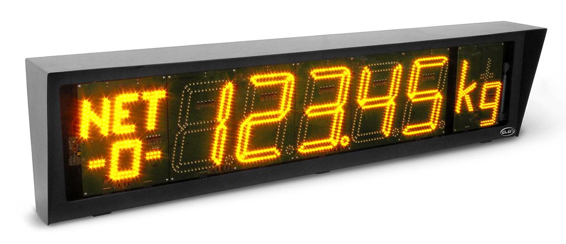 Großanzeigen für die Wägetechnik NDI 212/5 W Y H65