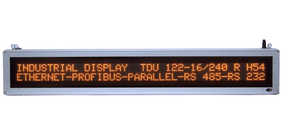 Textový displej - TDU 122-16/240 Y H54
