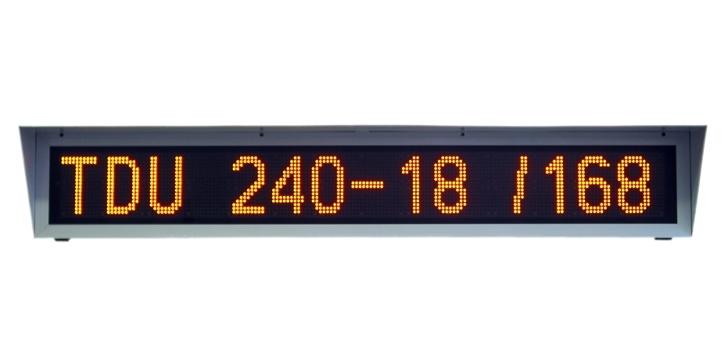 Textový displej - TDU-240-18/168