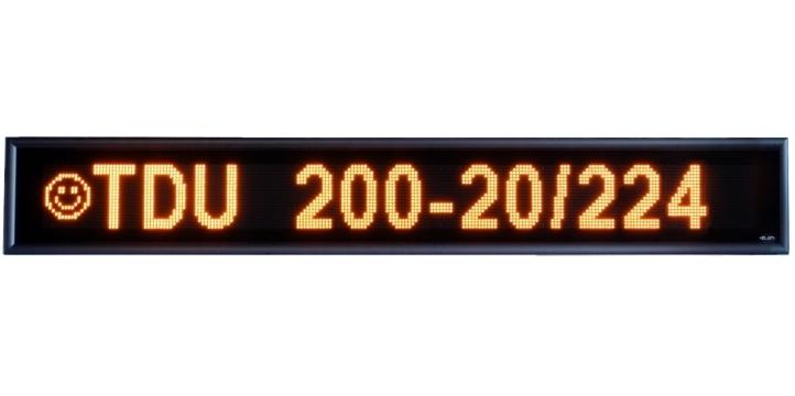 Textový displej TDU 200-20/224 Y H54