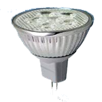 LED žiarovka -<br/>LLS MR16 GU5.3 W 3W 30/170 12A/D SBB