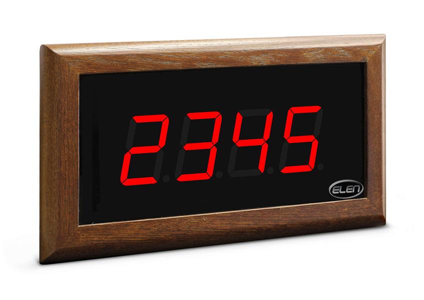 Číselník do kostola<br/>NDT 57/4 R – drevený rám