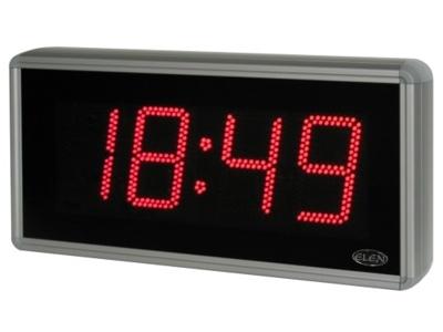 Digitálne hodiny pre zobrazovanie času, dátumu a teploty -<br/>NDC 160/4 R H54