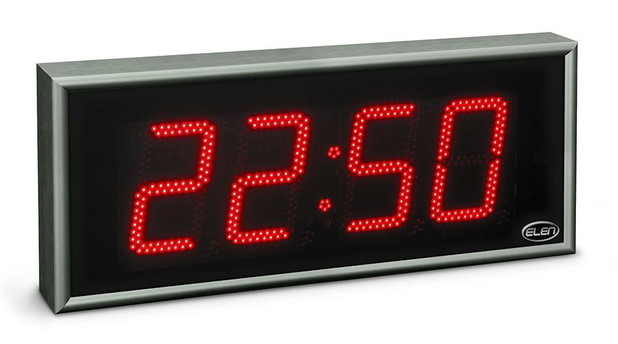 Digitálne hodiny pre zobrazovanie času, dátumu a teploty -<br/>NDC 160/4 R H20